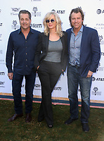 04 January 2019 - Palm Springs, California - James Van Patten, Eileen Davidson, Vincent Van Patten. Variety 2019 Creative Impact Awards and 10 Directors to Watch held at the Parker Palm Springs during the 30th Annual Palm Springs International Film Festival.          <br /> CAP/ADM/FS<br /> &copy;FS/ADM/Capital Pictures