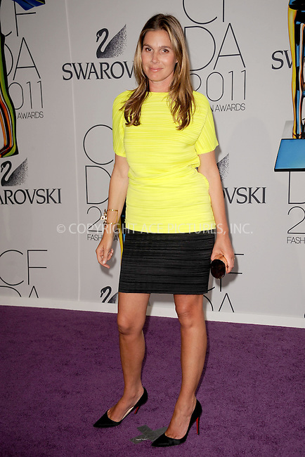 WWW.ACEPIXS.COM . . . . . .June 6, 2011...New York City..... Aerin Lauder attends the 2011 CFDA Fashion Awards at Alice Tully Hall, Lincoln Center on June 6, 2011 in New York City......Please byline: KRISTIN CALLAHAN - ACEPIXS.COM.. . . . . . ..Ace Pictures, Inc: ..tel: (212) 243 8787 or (646) 769 0430..e-mail: info@acepixs.com..web: http://www.acepixs.com .