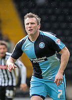 Garry Thompson of Wycombe Wanderers during the Sky Bet League 2 match between Notts County and Wycombe Wanderers at Meadow Lane, Nottingham, England on 28 March 2016. Photo by Andy Rowland.