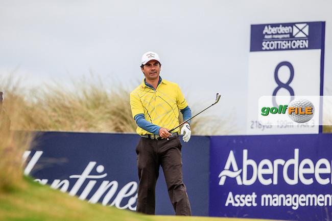 Felipe Aguilar (CHI) during round 3 of the Aberdeen Asset Management Scottish Open 2016, Castle Stuart  Golf links, Inverness, Scotland. 09/07/2016.<br /> Picture Fran Caffrey / Golffile.ie<br /> <br /> All photo usage must carry mandatory copyright credit (&copy; Golffile | Fran Caffrey)