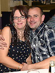 Eddie and Leanne Johnson pictured at the Team Carrie end of season dinner in the Grove Hotel Dunleer. Photo:Colin Bell/pressphotos.ie