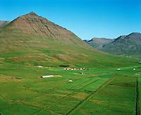 Flugumýri séð til suðausturs, Akrahreppur / Flugumyri viewing southeast, Akrahreppur