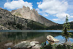 Ptarmigan Mountain, Lake Nanita, North Inlet, subalpine, forest, Rocky Mountain National Park, Colorado, USA
