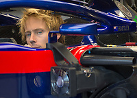 BRENDON HARTLEY (NZL) of Scuderia Toro Rosso during The Formula 1 2018 Rolex British Grand Prix at Silverstone Circuit, Northampton, England on 8 July 2018. Photo by Vince  Mignott.