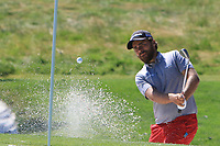 Romain Langasque (FRA) on the 3rd during Round 1 of the HNA Open De France at Le Golf National in Saint-Quentin-En-Yvelines, Paris, France on Thursday 28th June 2018.<br /> Picture:  Thos Caffrey | Golffile