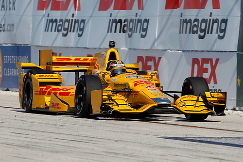 27-29 March, 2015, St Petersburg, Florida USA<br /> Ryan Hunter-Reay<br /> ©2015, Russell LaBounty<br /> LAT Photo USA