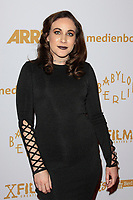 LOS ANGELES - OCT 6: Laura Elise Barrett at the Babylon Berlin International Premiere held at The Theatre at Ace Hotel on October 6, 2017 in Los Angeles, CA