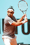 Marcos Baghdatis, Cyprus, during Madrid Open Tennis 2016 match.May, 2, 2016.(ALTERPHOTOS/Acero)