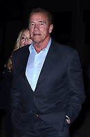 BURBANK, CA - FEBRUARY 05: Arnold Schwarzenegger at the Premiere Of Warner Bros. Pictures' 'The 15:17 To Paris' at Steven J. Ross Theater/Warner Bros Studios Lot on February 5, 2018 in Burbank, California. <br /> CAP/MPI/DE<br /> &copy;DE//MPI/Capital Pictures