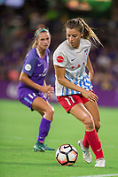 Orlando, FL - Saturday August 05, 2017: Sofia Huerta during a regular season National Women's Soccer League (NWSL) match between the Orlando Pride and the Chicago Red Stars at Orlando City Stadium.