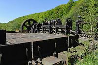 Industriepark Fond-de-Gras bei Differdange, Luxemburg