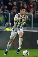 30th October 2019; Allianz Stadium, Turin, Italy; Serie A Football, Juventus versus Genoa; Cristiano Ronaldo of Juventus on the ball - Editorial Use
