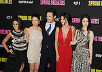 HOLLYWOOD, CA - MARCH 14: Vanessa Hudgens, Ashley Benson, James Franco, Selena Gomez and Rachel Korine attend the 'Spring Breakers' Los Angeles Premiere at ArcLight Hollywood on March 14, 2013 in Hollywood, California.