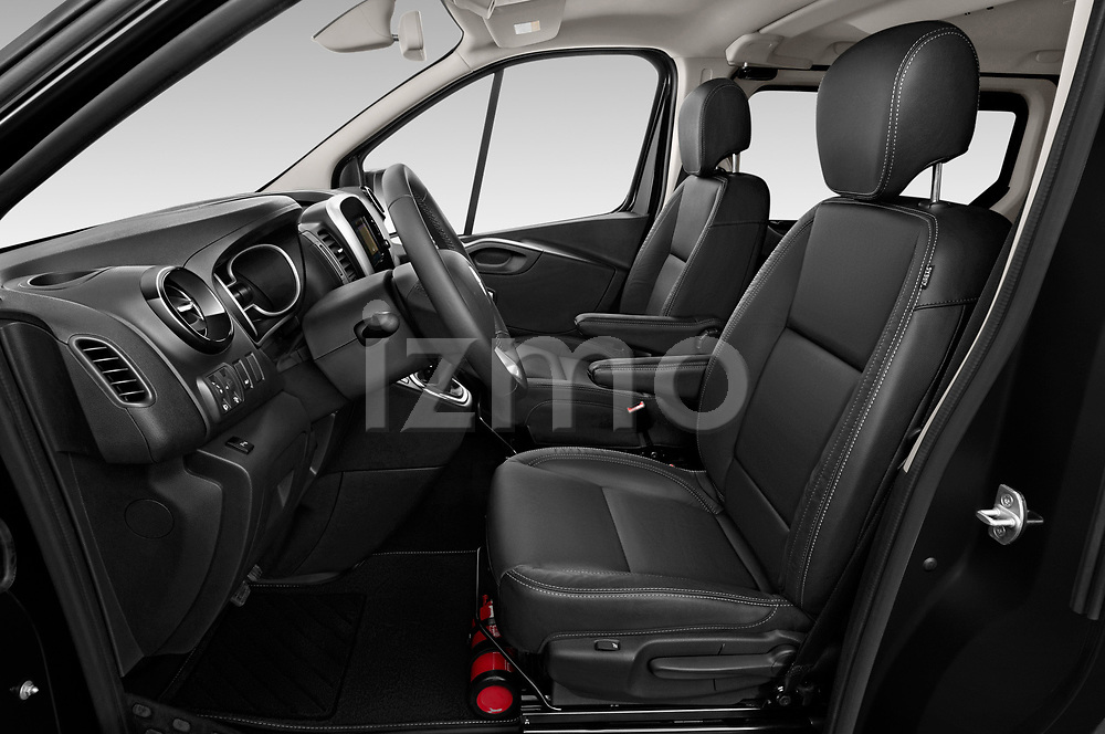 Front seat view of a 2020 Renault Trafic Space Class 4 Door Passenger Van front seat car photos