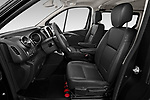Front seat view of a 2020 Renault Trafic Space Class 4 Door Passenger Van front seat car photos