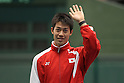 Kei Nishikori (JPN), FEBRUARY 10, 2012 - Tennis : Davis Cup 2012, World Group First Round, Opening Ceremony at Bourbon Beansdome, Hyogo, Japan. (Photo by Akihiro Sugimoto/AFLO SPORT) [1080]