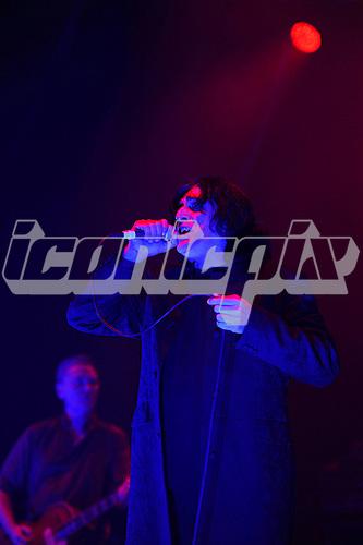 KILLING JOKE - vocalist Jaz Coleman - performing live at the O2 Academy in Brixton London UK - 04 Nov 2016.  Photo credit: Zaine Lewis/IconicPix