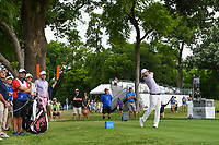 Brandon Grace (RSA) watches his tee shot on 3 during round 4 of the 2019 Charles Schwab Challenge, Colonial Country Club, Ft. Worth, Texas,  USA. 5/26/2019.<br /> Picture: Golffile | Ken Murray<br /> <br /> All photo usage must carry mandatory copyright credit (© Golffile | Ken Murray)