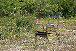 OLD CHAIR AND A CAN OF POP