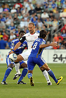 Ilija Stolica...Kansas City Wizards defeated New England Revolution 4-1 at Community America Ballpark, Kansas City, Kansas.
