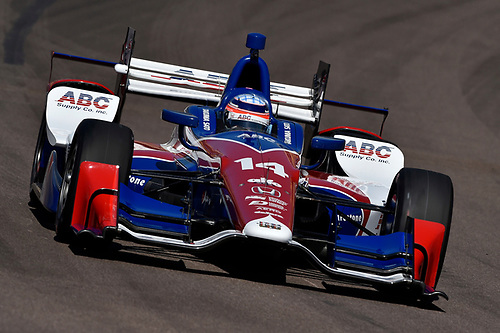 1-2 April, 2016, Avondale, Arizona USA<br /> 14 Takuma Sato<br /> ©2016, Scott R LePage <br /> LAT Photo USA