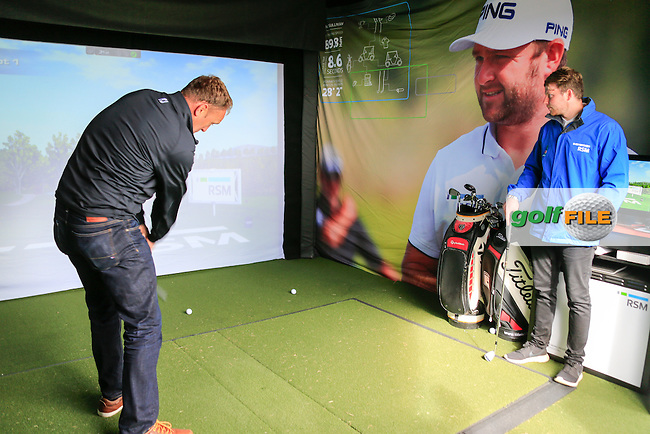 RSM activation stand in the tented village during round 2 of the Aberdeen Asset Management Scottish Open 2016, Castle Stuart  Golf links, Inverness, Scotland. 08/07/2016.<br /> Picture Fran Caffrey / Golffile.ie<br /> <br /> All photo usage must carry mandatory copyright credit (&copy; Golffile | Fran Caffrey)