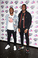 Krept & Konan at the VO5 NME Awards 2018 at the Brixton Academy, London, UK. <br /> 14 February  2018<br /> Picture: Steve Vas/Featureflash/SilverHub 0208 004 5359 sales@silverhubmedia.com