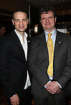 Jordan Roth & Michael Cumpsty.Behind the Scenes at the 2012 Tony Award-Meet The Nominees Press Reception at Millennium Broadway Hotel on May 2, 2012 in New York City. © Walter McBride/WM Photography .