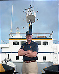 Bob Ballard on the EV Nautilus found the Titanic in 1985.