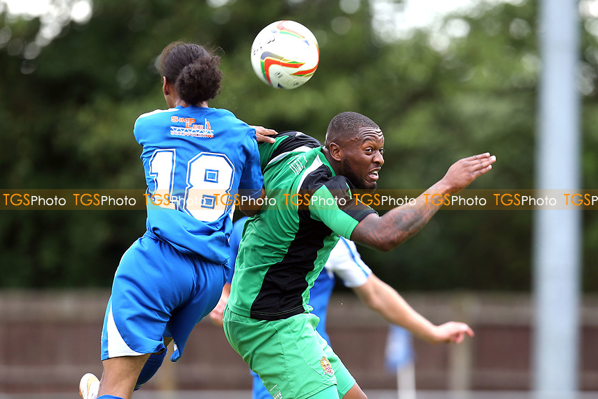 Morgan Ferrier of Dagenham during Bedford Town vs Dagenham & Redbridge, Friendly Match Football at The Eyrie on 15th July 2017