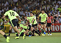 Rugby: Japan Rugby Top League 2014-2015 - Suntory Sungoliath 20-17 Canon Eagles