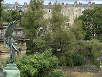 BATH, INGLATERRA, 16.09.2010 – TURISMO-INGLATERRA – Vista da Cidade de Bath, que fica a 155 quilômetros de Londres, é uma cidade de arquitetura romana e tem suas famosas águas termais. Bath é Patrimônio Cultural da Humanindade. (Foto: Ricardo Botelho/Brazil Photo Press)