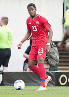 PHILADELPHIA, PA - JUNE 30: Michael Murillo #23 during a game between Panama and Jamaica at Lincoln Financial Field on June 30, 2019 in Philadelphia, Pennsylvania.
