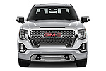 Car photography straight front view of a 2019 GMC Sierra 1500 Denali Base 4 Door Pick Up