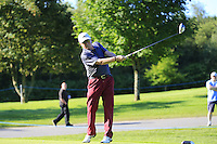 David Horsey (ENG) team during Wednesday's Pro-Am of the 2014 Irish Open held at Fota Island Resort, Cork, Ireland. 18th June 2014.<br /> Picture: Eoin Clarke www.golffile.ie