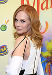 """Marge Helgenberger attending the Broadway Opening Night Performance of  """"Escape To Margaritaville"""" at The Marquis Theatre on March 15, 2018 in New York City."""