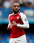 Arsenal's Alexandre Lacazette in action during the premier league match at Stamford Bridge Stadium, London. Picture date 17th September 2017. Picture credit should read: David Klein/Sportimage