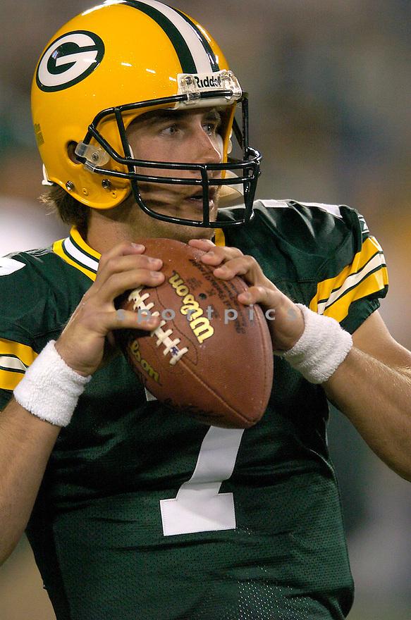 JT OSullivan during the Packers v. Titans game on October 11, 2004...Titans win 48 - 27..Chris Bernacchi / SportPics.