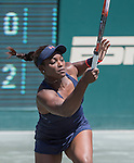 Sloane Stephens (USA) defeated Angelique Kerber (GER) (retired) 6-1, 3-0