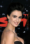 "HOLLYWOOD, CA. - December 17: Actress Paz Vega arrives at the Los Angeles premiere of ""The Spirit"" at the Grauman's Chinese Theater on December 17, 2008 in Hollywood, California."