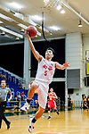 Lo Yi Ting #5 of South China Athletic Association Men's Basketball Team tries to score during the Hong Kong Basketball League game between SCAA and Nam Ching at Southorn Stadium on May 4, 2018 in Hong Kong. Photo by Yu Chun Christopher Wong / Power Sport Images