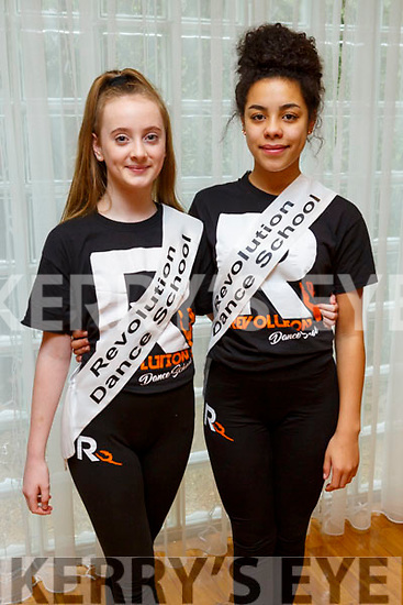 Eliza Brown and Ellis Mulumba members of the Tralee Musical Society at their 'Strictly Young Dancing' fundraiser launch in the Ballyroe Heights Hotel on Saturday which is being held on February 9th in Ballyroe Hotel.