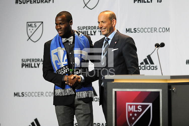 Philadelphia, PA. - January 15, 2015: MLS SuperDraftL 2015 at the Pennsylvania Convention Center.