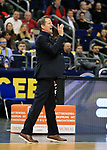 12.02.2019, Mercedes Benz Arena, Berlin, GER, ALBA ERLIN vs.  Basketball Loewen Braunschweig, <br /> im Bild (Headcoach) Frank Menz (Braunschweig)<br /> <br />      <br /> Foto © nordphoto / Engler
