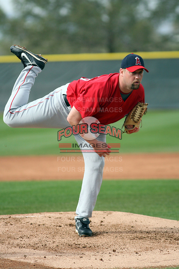 Matt Palmer  - Los Angeles Angels 2009 spring training.Photo by:  Bill Mitchell/Four Seam Images