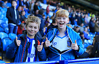 Young Sheffield Wednesday fans during the Sky Bet Championship match between Sheffield Wednesday and Nottingham Forest at Hillsborough, Sheffield, England on 9 September 2017. Photo by Leila Coker / PRiME Media Images.