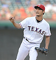 Yu Darvish (Rangers),<br /> AUGUST 1, 2013 - MLB :<br /> Pitcher Yu Darvish of the Texas Rangers during the Major League Baseball game against the Arizona Diamondbacks at Rangers Ballpark in Arlington in Arlington, Texas, United States. (Photo by AFLO)