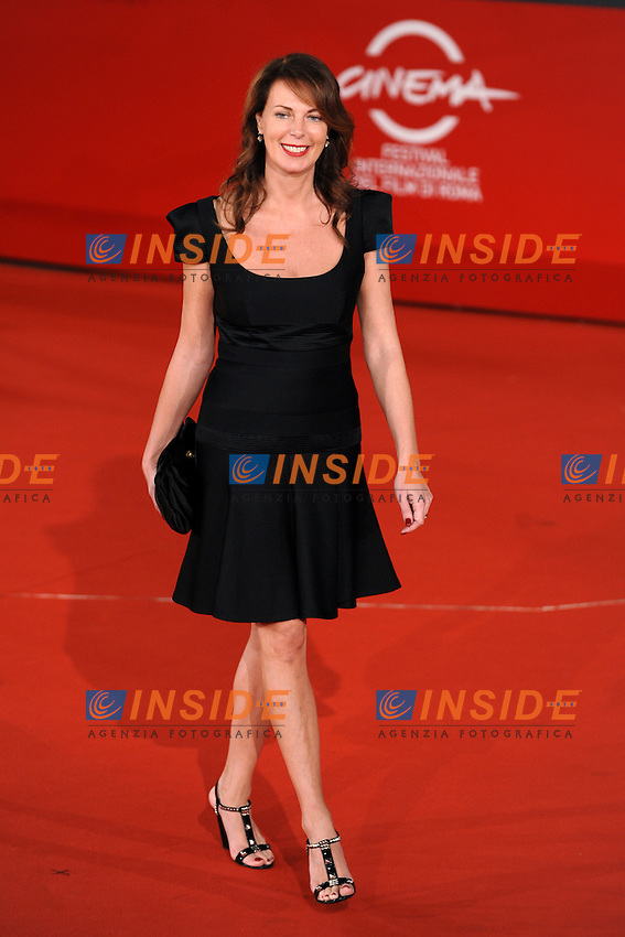Sonia Raule attends the red carpet for the film &quot;L'Uomo che ama&quot; at the the third edition of Festa Internazionaledel Cinema di Roma, Auditorium Parco della Musica, October 23, 2008. <br /> Photo Andrea Staccioli Insidefoto