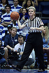 18 January 2015: Referee Jennifer Rezac. The Duke University Blue Devils hosted the University of Miami Hurricanes at Cameron Indoor Stadium in Durham, North Carolina in a 2014-15 NCAA Division I Women's Basketball game. Duke won the game 68-53.
