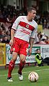 James Dunne of Stevenage.  Stevenage v Shrewsbury Town - npower League 1 -  Lamex Stadium, Stevenage - 1st September, 2012. © Kevin Coleman 2012.